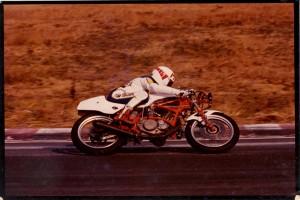 1985/01 第3回BOTTレース・SEクラスに、エントリー名XT600改で出場。